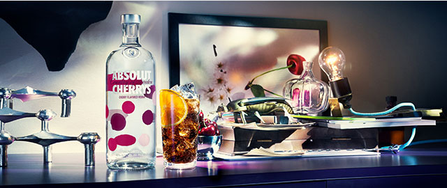 Absolut® Cherrys Vodka* coupon