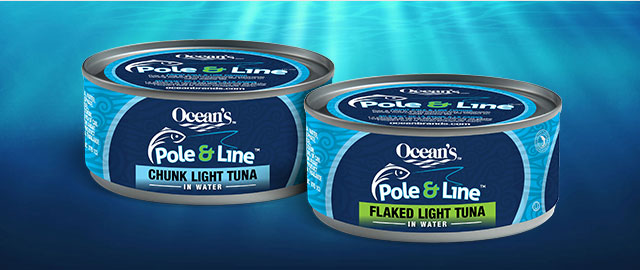 Buy 3: Ocean's Pole & Line Tuna coupon