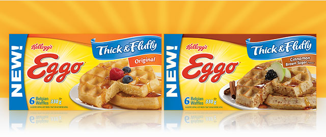Eggo* Thick & Fluffy* Waffles coupon