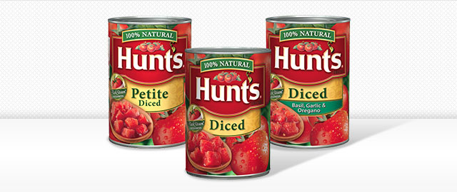 Buy 3: Hunt's® Diced Tomatoes coupon