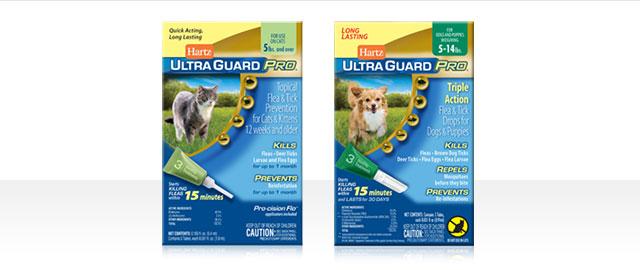 Hartz® UltraGuard Pro® Flea & Tick Drops coupon