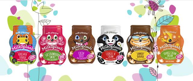 Unlocked! MilkSplash™ Zero Calorie Milk Flavoring coupon