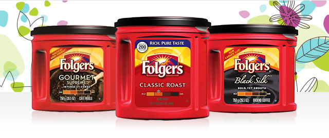 Select Folgers® Ground Coffee coupon