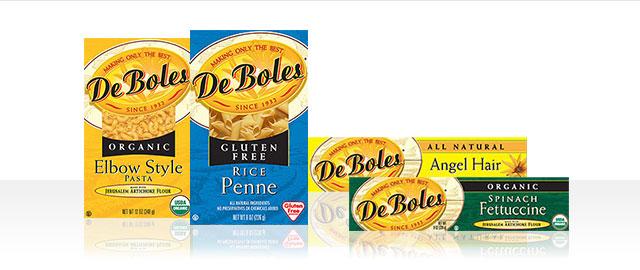 Buy 2: DeBoles Organic Pasta coupon