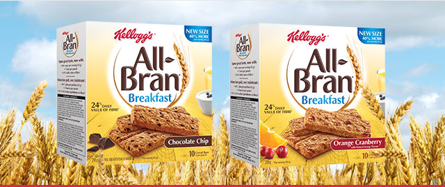 Buy 2: All-Bran* Breakfast bars coupon