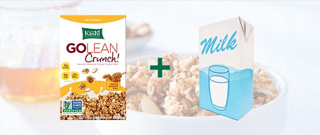 Combo: Kashi® cereal + Milk Alternative  coupon