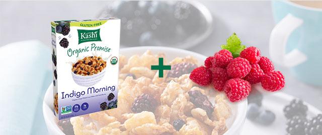 Combo: Kashi® cereal + Raspberries coupon