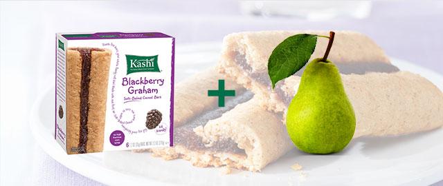 Combo: Kashi® snack bars + Pears coupon