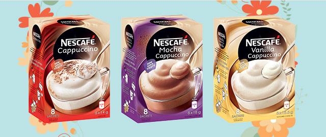 Buy 2: NESCAFÉ Cappuccino Products  coupon