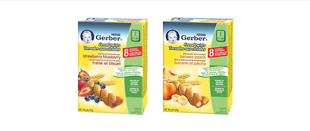 Buy 2: NESTLÉ® GERBER Cereal Twists®  coupon