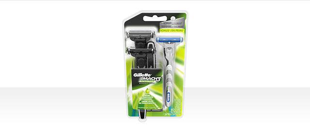 Mach3 or Sensor3 Disposable Razors coupon
