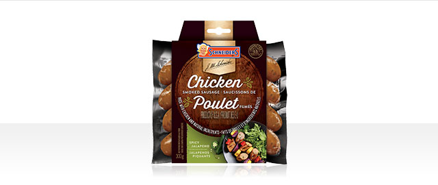 Schneiders® Spicy Jalapeno Smoked Chicken Sausage coupon