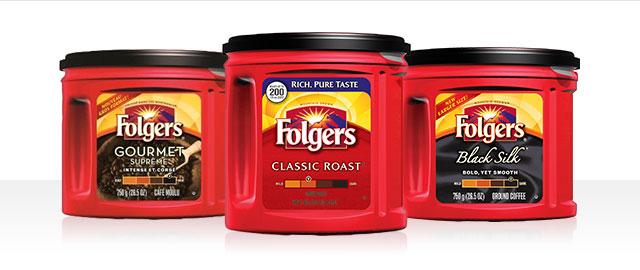 Achetez 2 : Cafés moulu Folgers® coupon