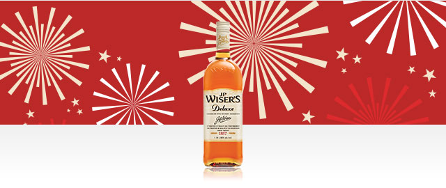 J.P. Wiser's® Deluxe Whisky* coupon