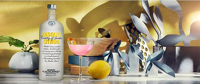 Absolut® Citron Vodka*  coupon