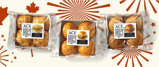La boulangerie ACE (MC) : pains à hamburger gourmets coupon