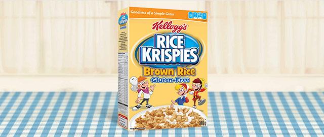 Céréales Rice Krispies® Riz bruns sans gluten coupon