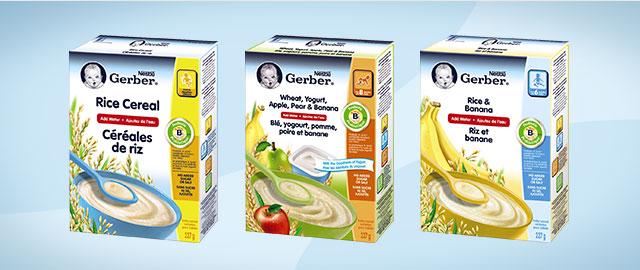Buy 2: NESTLÉ GERBER® Baby Cereals coupon