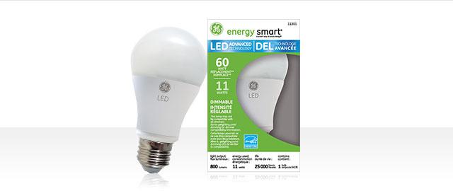 GE LED Light Bulbs coupon