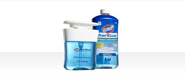 Clorox® Pump 'N Clean™ Bathroom & Multi-Purpose coupon