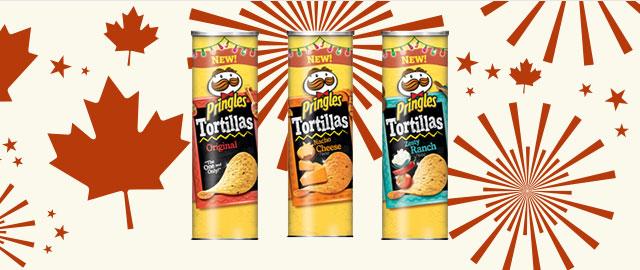 Pringles Tortilla Chips  coupon