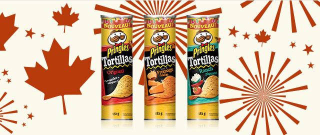 Croustilles Pringles Tortillas coupon