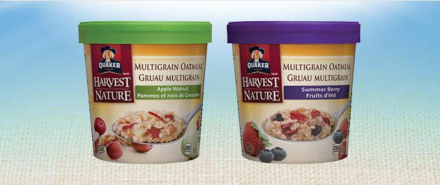 Achetez 3: Quaker® Coupe de Gruau Multigrain  coupon