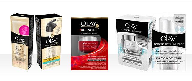 Soins pour la peau Olay® coupon