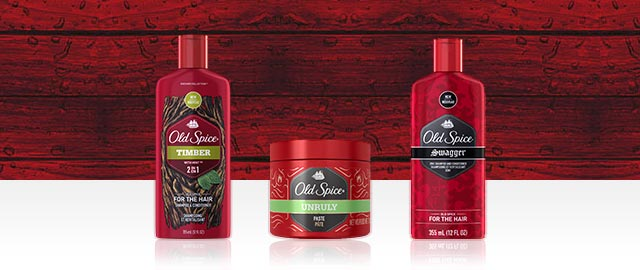Old Spice® Shampoo or Hair Styling products coupon
