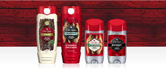 Buy 2: Old Spice® Deodorant or Body Wash coupon