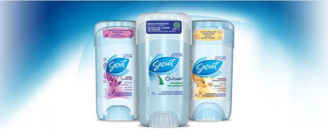 Secret® Deodorant or Antiperspirant  coupon