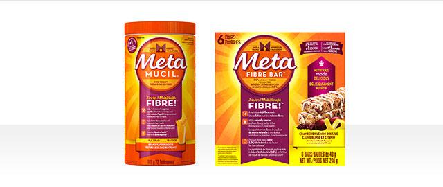 Metamucil® Fibre Bar Box or Metamucil® Powder coupon