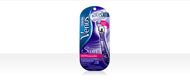 Rasoir Venus® Swirl avec Flexiball™  coupon