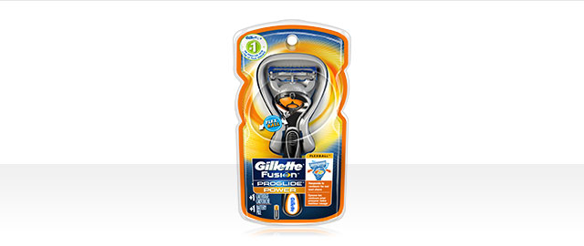 Gillette Fusion® ProGlide® Razor with Flexball™ Technology coupon