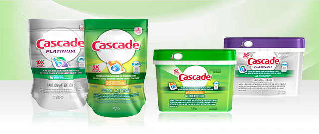 Cascade® products coupon