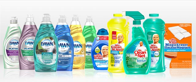 Mr. Clean® or Dawn® products coupon