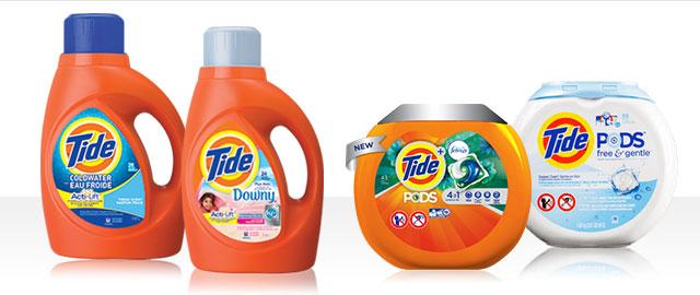 Tide® Liquid Detergent or Tide® PODS™ coupon