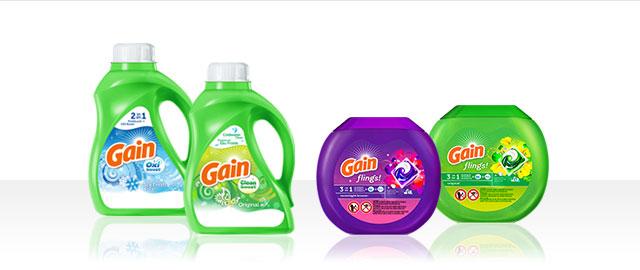 Gain® Liquid Detergent or Gain flings!™ coupon