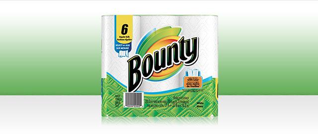 Produits de Bounty® coupon