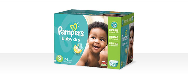 Buy 2: Pampers® Baby Dry coupon