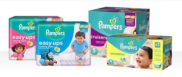Pampers® Swaddlers, Cruisers or Easy Ups coupon