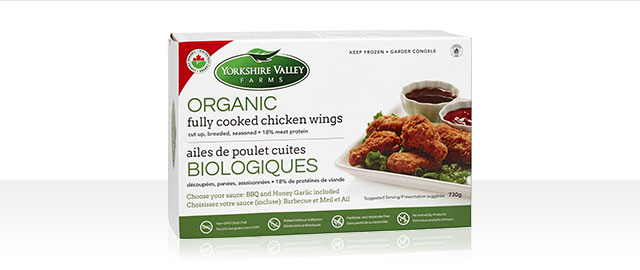 UNLOCKED! Yorkshire Valley Farms Frozen Organic Fully Cooked Chicken Wings coupon