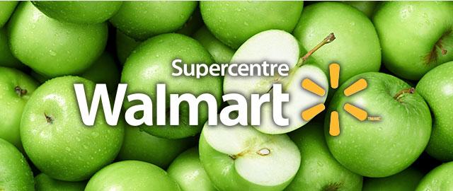 Chez Walmart: Pommes coupon