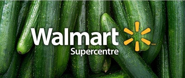 At Walmart: Cucumber coupon