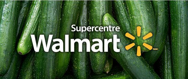 Chez Walmart: Concombre coupon