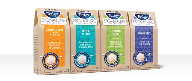 Tetley Signature Collection Tea coupon