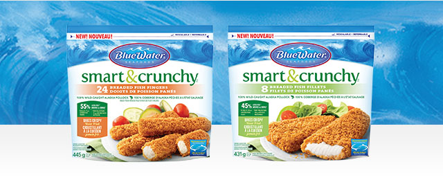 BlueWater(MD) Seafoods Smart & Crunchy Poisson  coupon