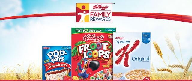 Kellogg's Family Rewards  coupon