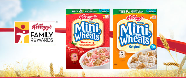 Buy 2: Kellogg's® Frosted Mini-Wheats® Cereals coupon