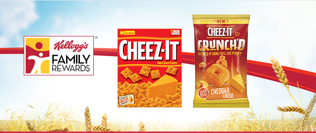 Buy 2: Cheez-It® Baked Snack Crackers coupon